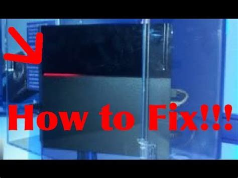 How To Fix Ps4 Red Line Of Death!!! Youtube