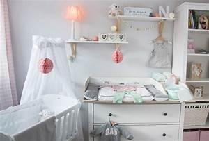 Ein Skandinavisches Kinderzimmer Und Ein Wickelaufsatz Fr