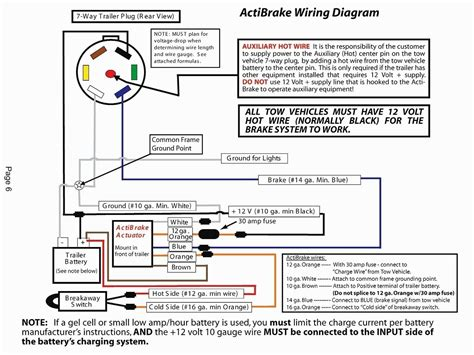 7 way trailer wiring diagram ford free wiring diagram
