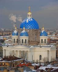Trinity Cathedral St. Petersburg Russia
