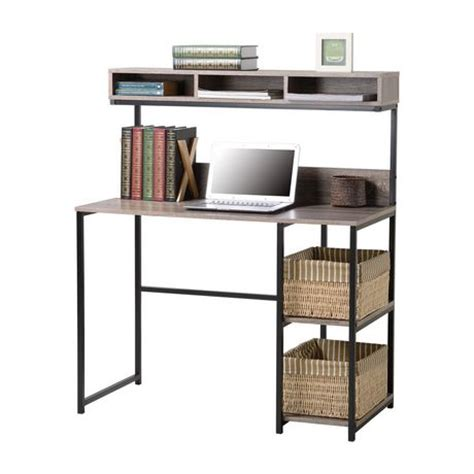 Computer Desks For Small Spaces Walmart by Homestar Laptop Desk With Hutch Walmart Ca