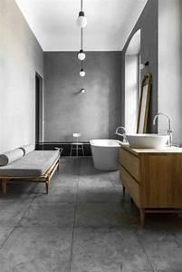 Interieur en beton decoratif nos conseils for Salle de bain design avec fil métallique décoratif