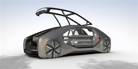 Renault Shows Driverless Robotaxi Called Ez-go