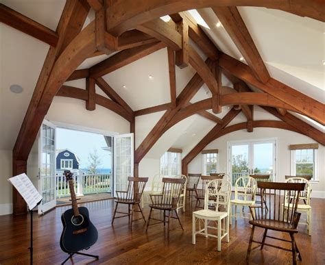 pin  kirsten oulton  farmhouse accessories timber frame construction timber frame barn