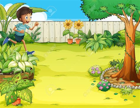 Tree House Garden Backyard Clipart
