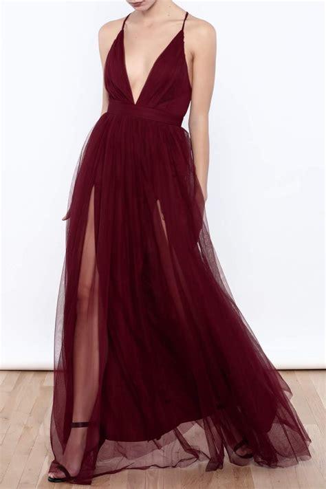 wine colored prom dresses best 25 wine dress ideas on wine dress