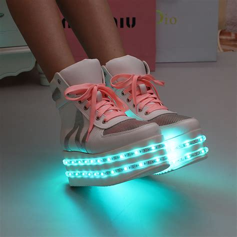 light up shoes adults light up for adults emitting luminous casual shoe