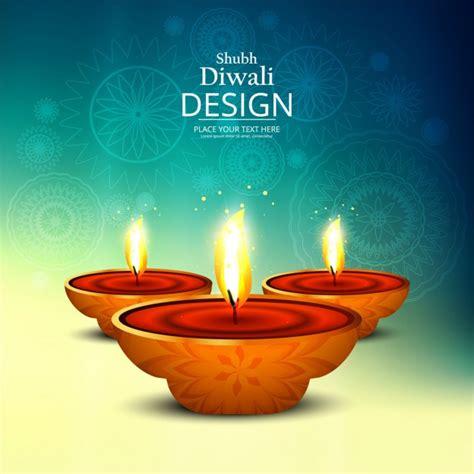nice background  celebrate diwali vector