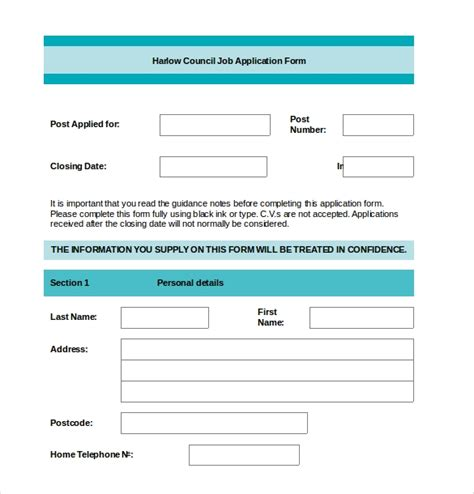 Bewerbung Vorlage Word by Application Form Templates 10 Free Word Pdf Documents