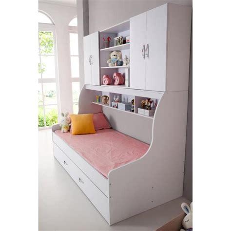 bureau avec tiroir pas cher lit enfant blanc 90x200 avec tiroir et rangement mural