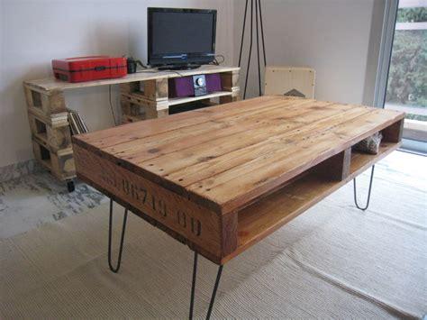 cuisine ronde récup palettes une table basse pour chloé et