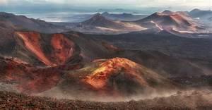 Alien Landscapes Of Tolbachik Volcanic Plateau  U00b7 Russia