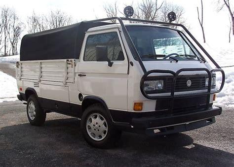 Vw 4 Door Truck by 1985 Volkswagen Transporter 2 Door Truck German Cars For