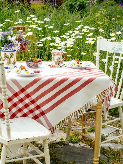 country kitchen table cloth happy picnic gingham tablecloth attic linens 6151