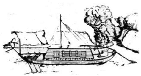 How To Draw A Keelboat by Lewis And Clark Keelboat