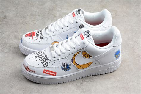 Nike Air 1 Low Supreme by Supreme X Nba X Nike Air 1 Low White For Sale Hoop