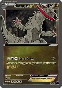 Pokemon Mega Haxorus Ex Card Images | Pokemon Images