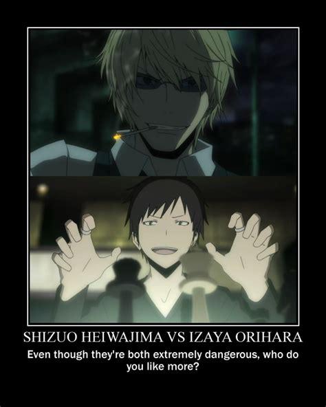 Durarara Meme - demotivational poster image 960532 zerochan anime image board
