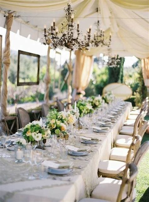 wedding table decorations for outside these table settings are so pretty and inspiring a garden wedding beautiful