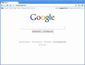 Diagram Of Google Homepage