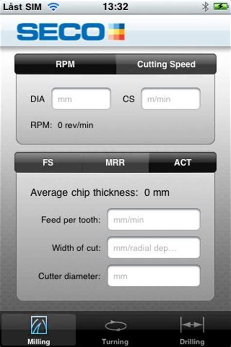 seco tools assistant mobile app  cnc machinist helman cnc