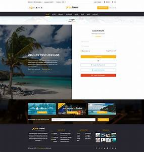 travel html template by tmdstudio themeforest With themeforest login template