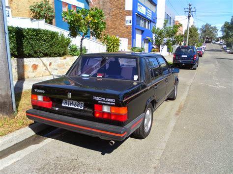 aussie  parked cars  volvo  turbo sedan