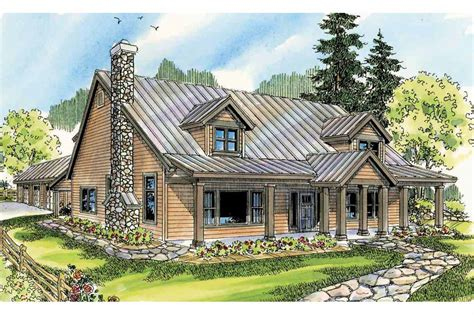 lodge style house plans elkton    designs