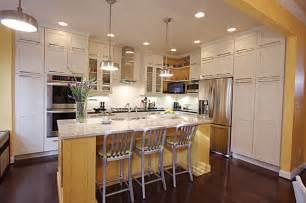 Galley Kitchen Designs Island Picture