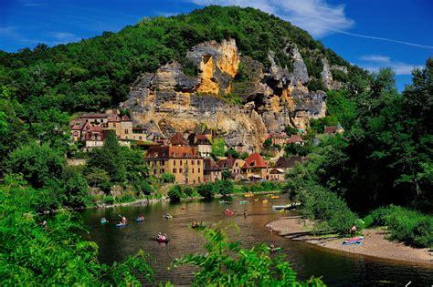 france house river la roque gageac cities wallpaper