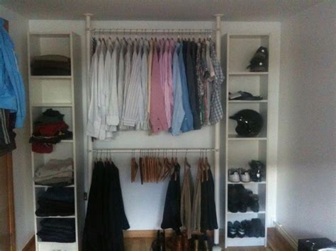 How To Install A Closet Organizer by Quick And Easy Wardrobe Ikea Hackers Ikea Hackers