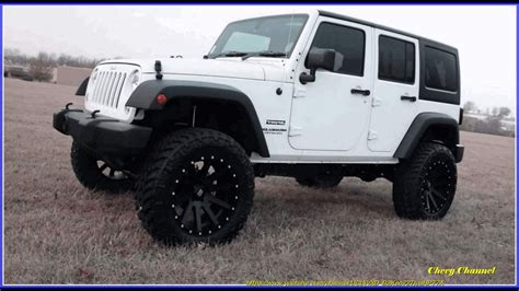 cute white jeep white and black jeep wrangler 4 door off road 4x4s youtube