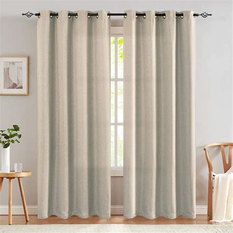 set of 2 window curtains curtain panels drapes for living
