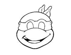 Leonardo Ninja Turtle Will Readily Kill Coloring Page