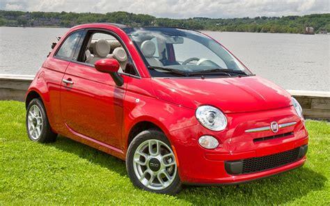 Fiat Cabrio by 2012 Fiat 500 Cabrio Drive Motor Trend