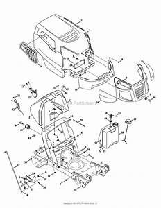 Mtd 13al78st099  247 288852   2012  Parts Diagram For Hood