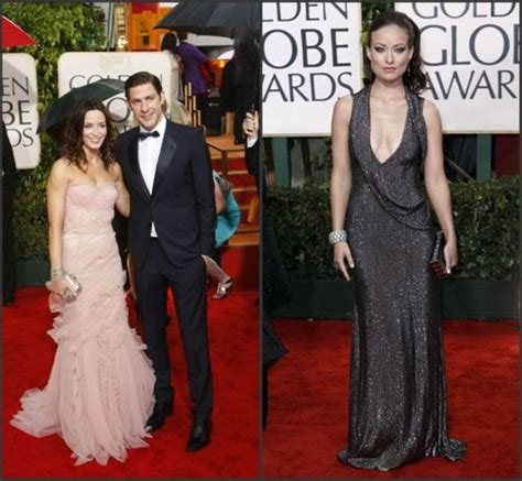 emily olivia wilde blunt looks makeup bond romantic beauty golden globes starlets totally different young latimesblogs latimes