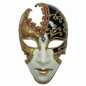 Ladies Full Face Masquerade Mask 13551