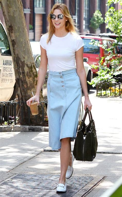 Karlie Kloss From Laid Back Celeb Weekend Style News