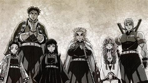 pillars kimetsu  yaiba  animewallpaper