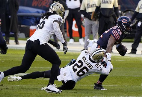 orleans saints  chicago bears recap