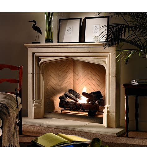 Ideal Prefab Wood Burning Fireplace The Wooden Houses