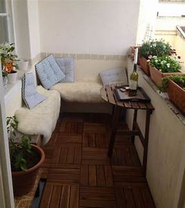 Balkon Bank Klein : die 25 besten ideen zu kleine balkone auf pinterest ~ Michelbontemps.com Haus und Dekorationen