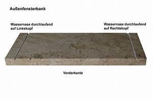 Fensterbank Außen Abdichten : naturstein fensterb nke auf ma f r innen und au en von wieland naturstein ~ Orissabook.com Haus und Dekorationen