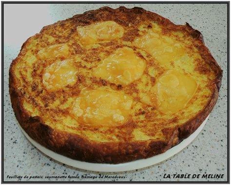 cuisiner la saumonette feuillete de panais saumonette fumee fromage de