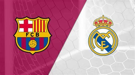 Real Madrid vs. Barcelona live stream: Watch La Liga online