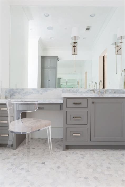 bathroom vanity w lucite chair bath contemporary by talbot