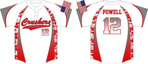 crushers custom camo baseball jerseys custom baseball
