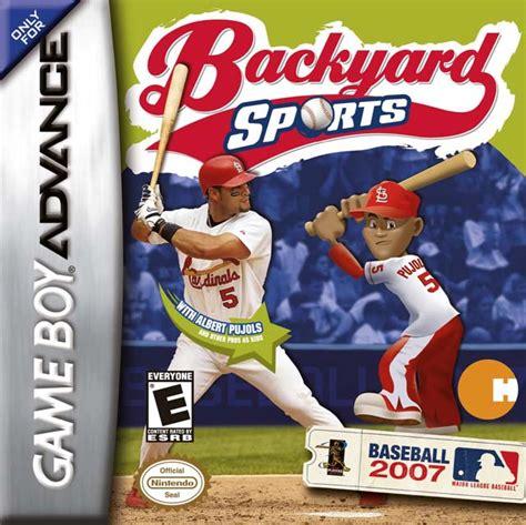 Backyard Baseball App by Backyard Sports Baseball 2007 Details Launchbox
