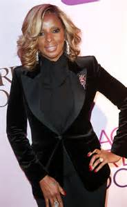 Highlights Mary J. Blige Hairstyles